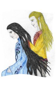 """By Your Side"" by Mei featuring Erestor and Glorfindel."